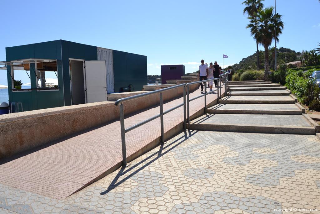 Escaleras del Paseo de la Marineta