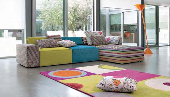 Modelo sof moderno de colores ok sof s d - Colores de sofas ...