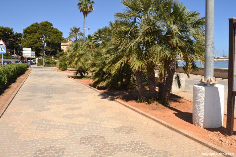 Paseo junto a la Marineta