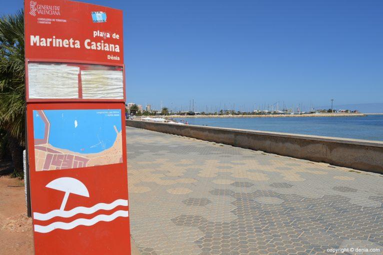 Playa de la Marineta Casiana Dénia