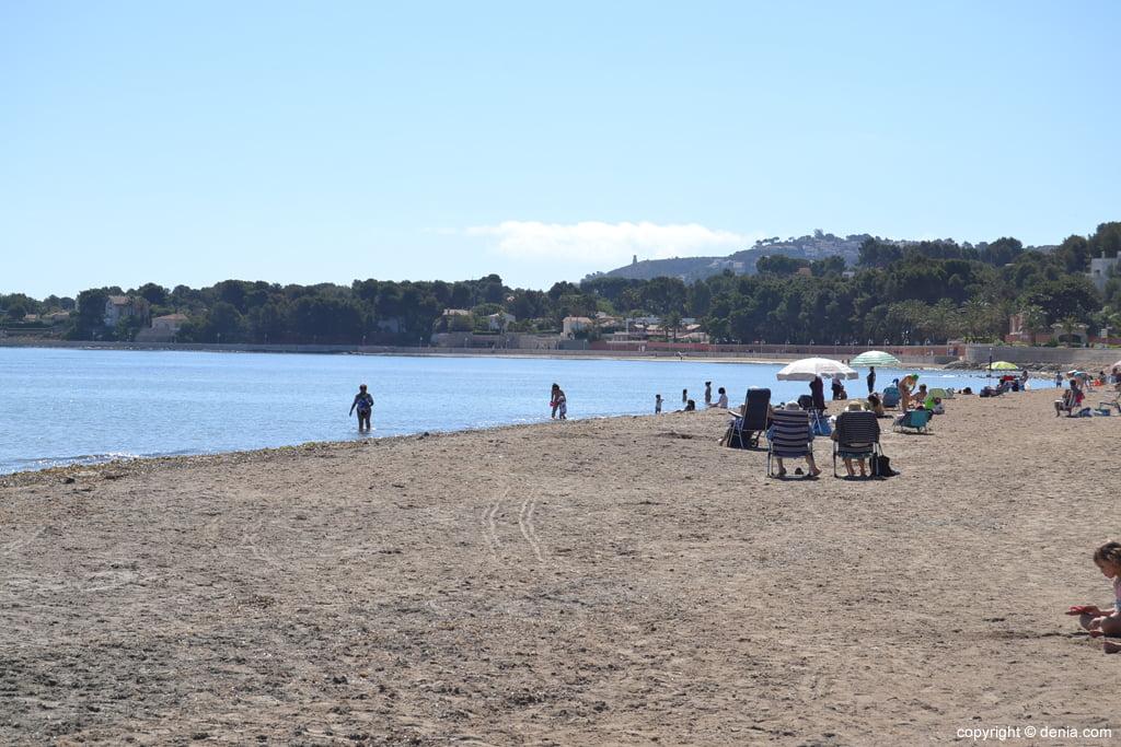 Playa de la Marineta Cassiana Dénia Alicante