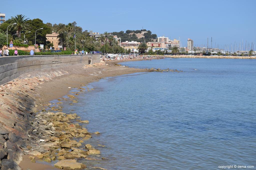Playa de la Marineta en Dénia