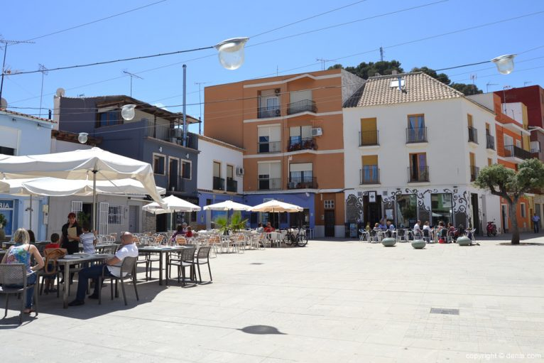 Plaza Mariana Pineda - Barrio de Baix la Mar