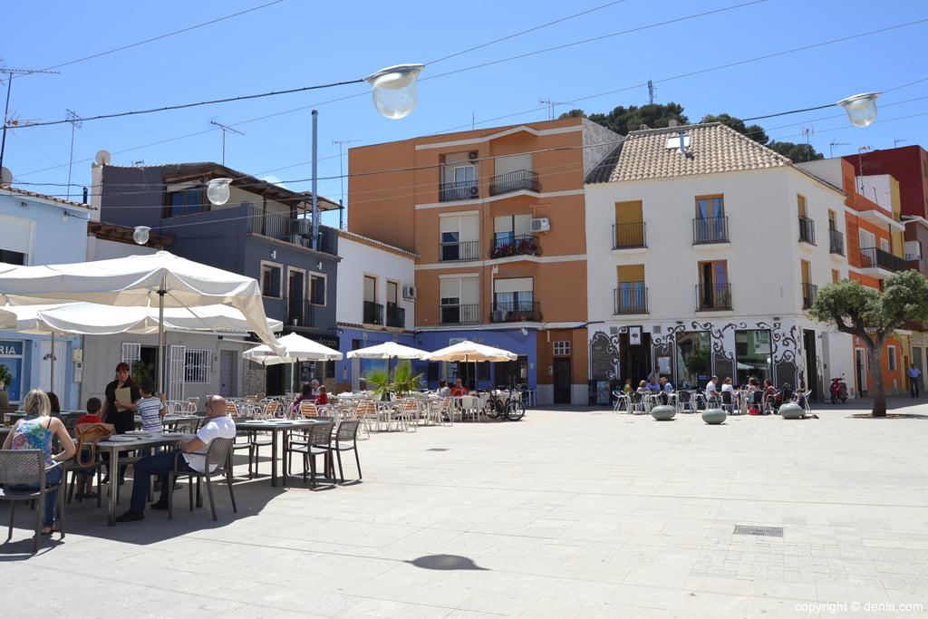 Plaza Mariana Pineda – Barrio de Baix la Mar