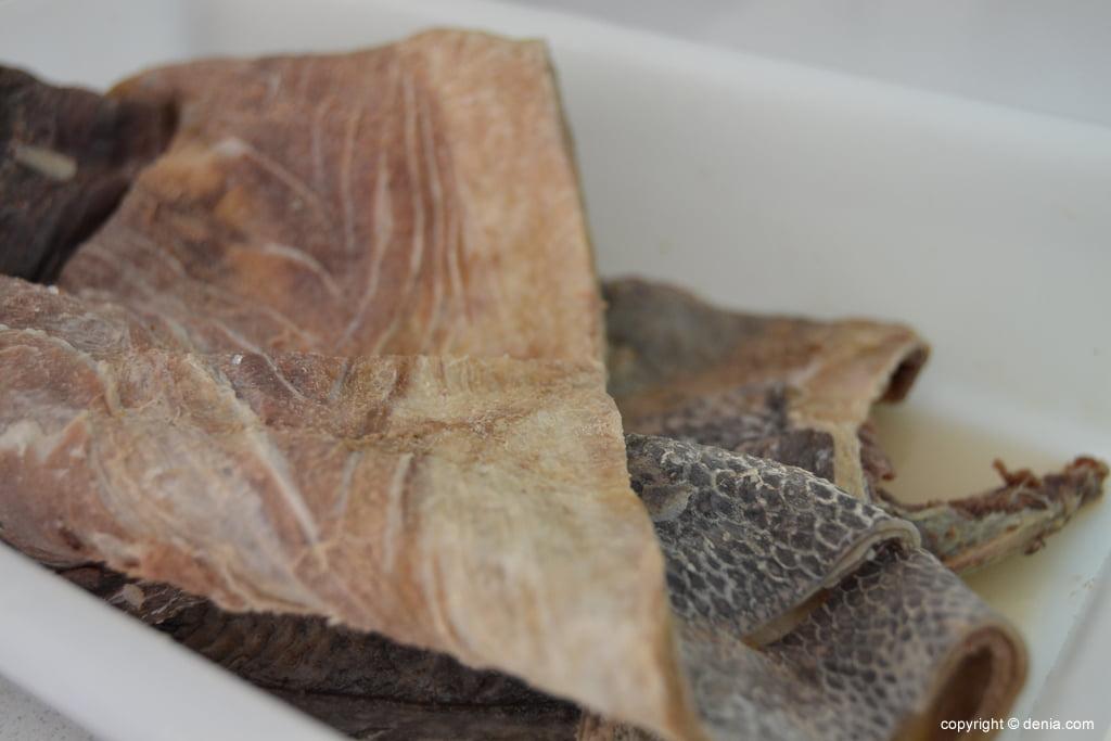 Salat i Curat – piel de bacalao