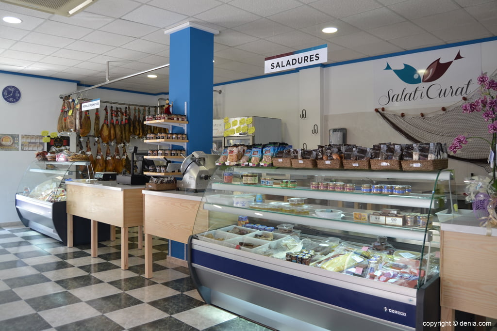 Salat i Curat – tienda de embutidos en Dénia