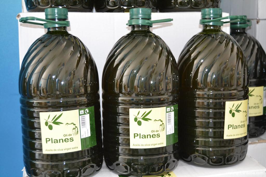 Salat i curat – Aceite de oliva