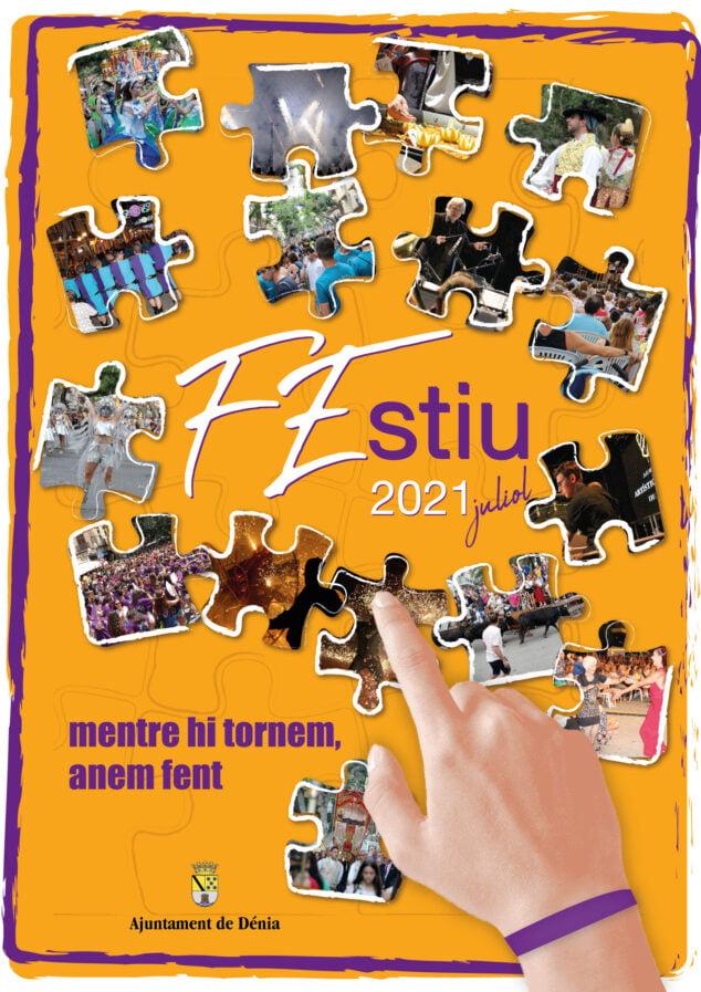 Imagen: Cartel de las Fiestas de Dénia de 2021