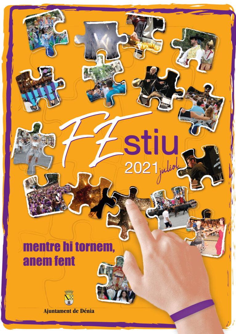 Cartel de las Fiestas de Dénia de 2021