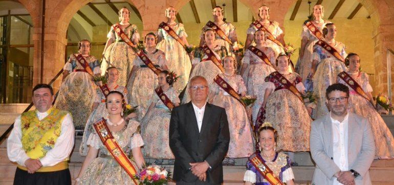 Falleres Majors i Corts d'honor Dénia 2019