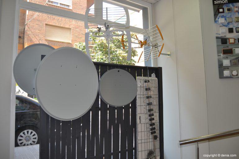 González Serveis i Manteniments - Antenes parabòliques