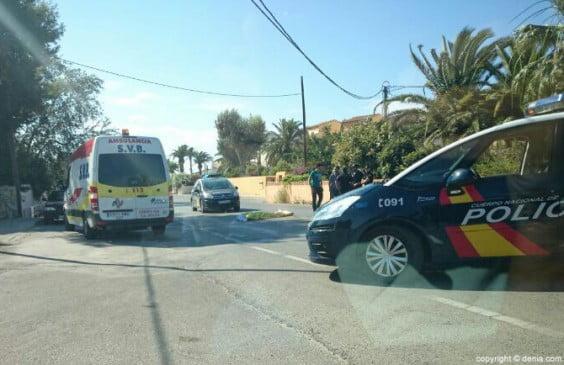 Accidente en Las Marinas