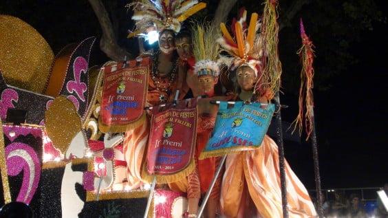 Carroza Port Rotes desfile 2014