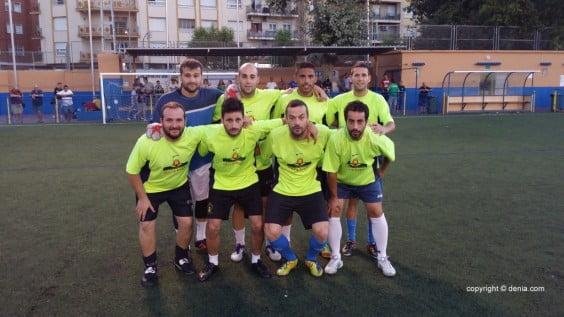 Estanco El Molí actual campeón del Memorial Diego Mena de Fútbol 7