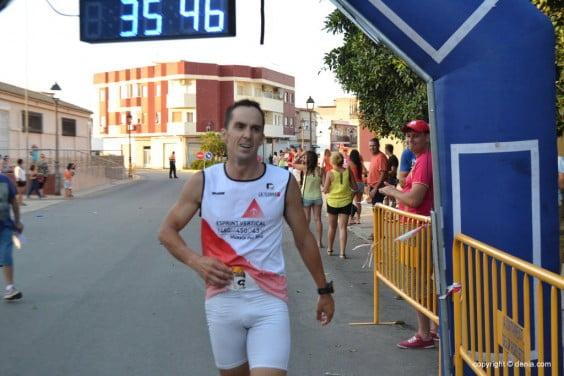 Sergio Alberola winner Els Poblets II Aquathlon