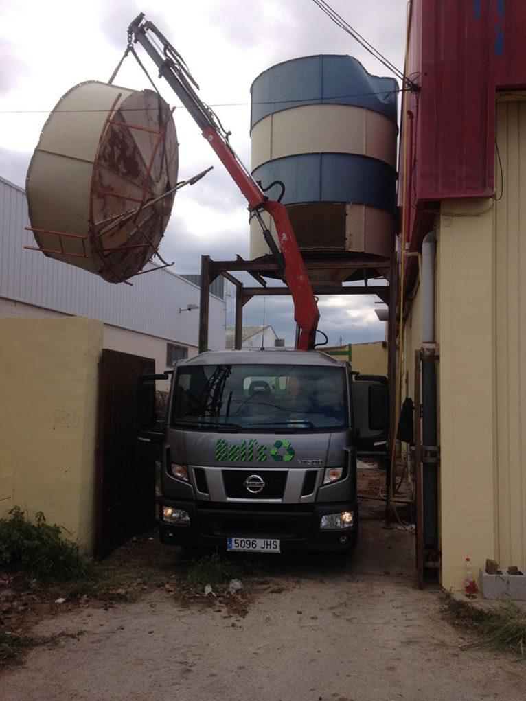 Camion de trabajo Bells