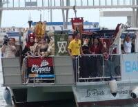 Desembarco moro Dénia 2014 - llegada de las tropas a puerto