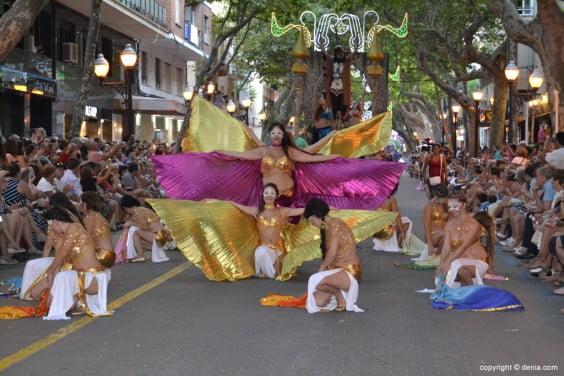 Capitanía Cristiana Marins Corsaris - Ballet de danza del vientre de Raquel Heredia