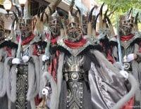 Desfile de gala Dénia 2014 - Filà Hospitalaris