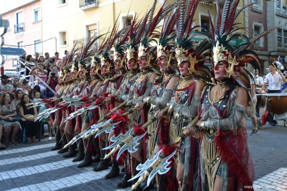 Desfile de gala Dénia 2014 - Filà Almogàvers