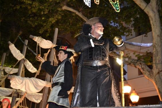Capitanía Cristiana Marins Corsaris - Carroza del capitán