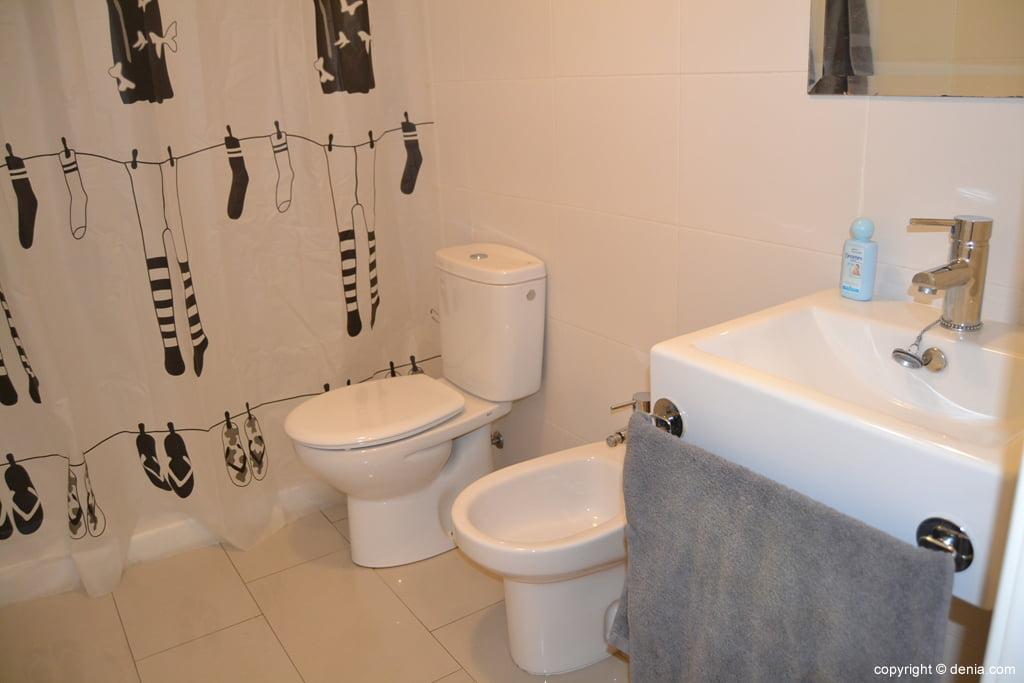 Аренда студии-ан-Beniarbeig-ванной