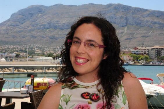 Celia Marín pregonera de las fiestas de Moros y Cristianos de Dënia