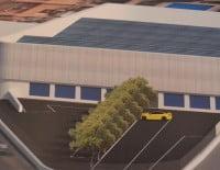 Proyecto de una zona comercial en Dénia