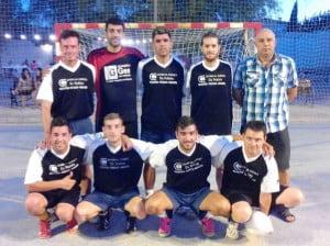 El equipo de Rafol que ganó a Seguros Reale por 2 a 1