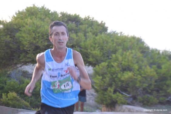 Víctor Férnandez ganador de la carrera