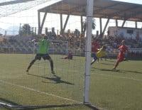 Ángel marcó el primer gol del CD. Dénia