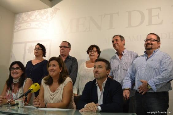 Ana Kringe anuncia la ruptura del pacto de gobierno