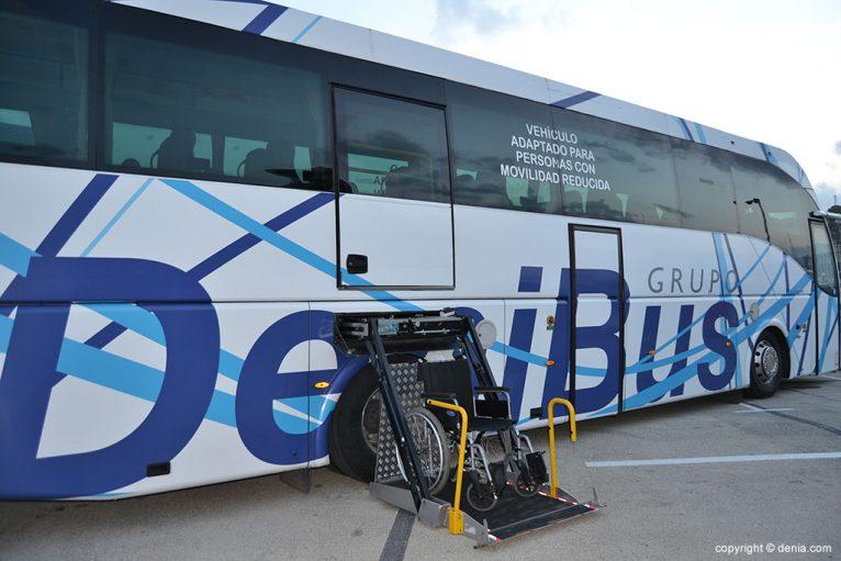 Autobús adaptado de Denibus