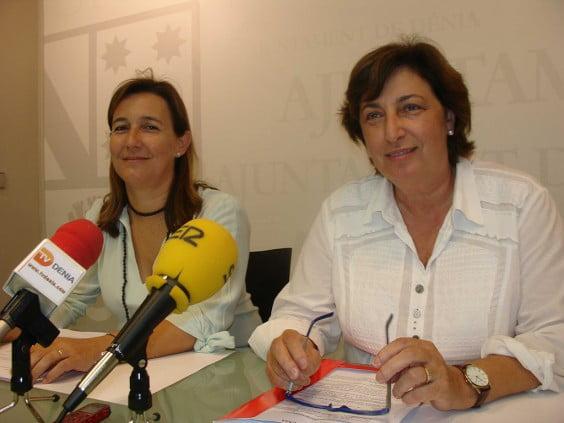 Cristina Sellés and Pepa Font