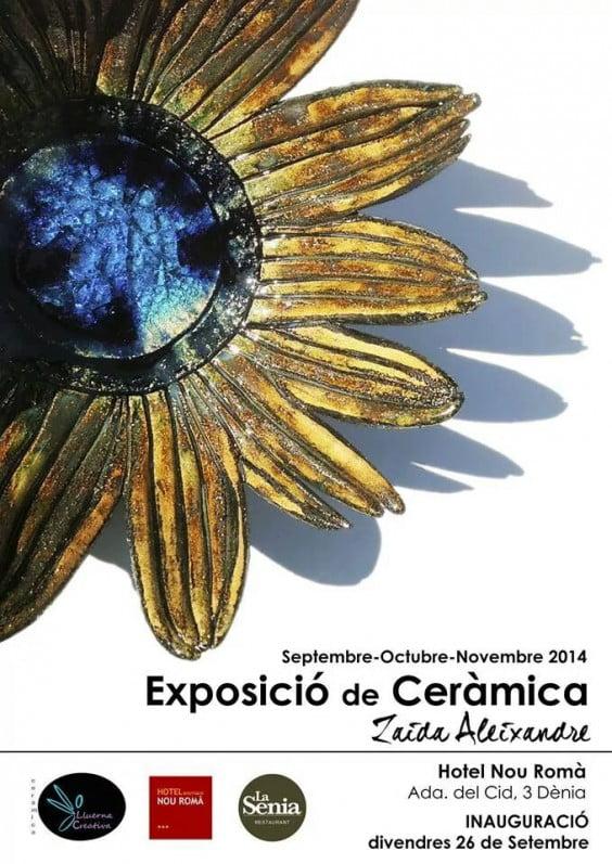 Exposición de cerámica de Zaira Alexandre