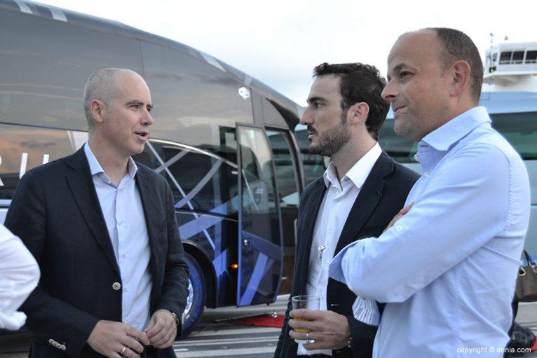 Fiesta de presentación de los autobuses Denibus+