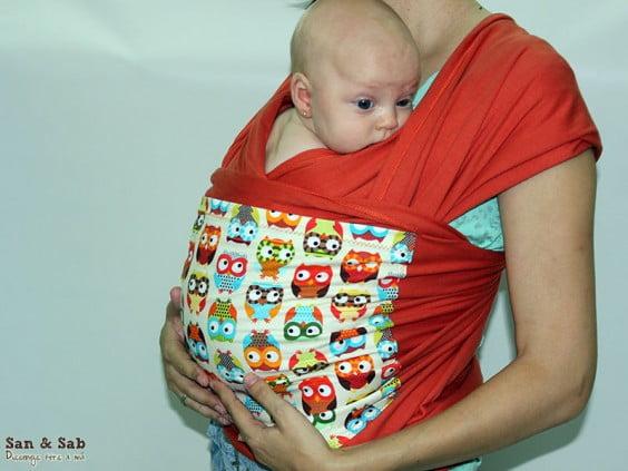 Fulares personalizados portabebés en SanSab