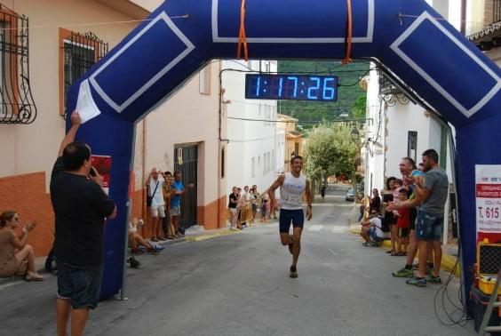Pedro Martínez vencedor de la Carrera en la pasada edición