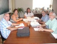 Reunión con los directores de los centros educativos de Dénia