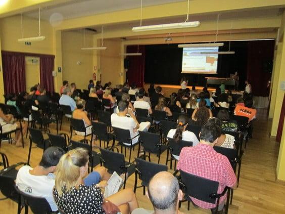 Reunión nuevos estudiantes UNED Dénia