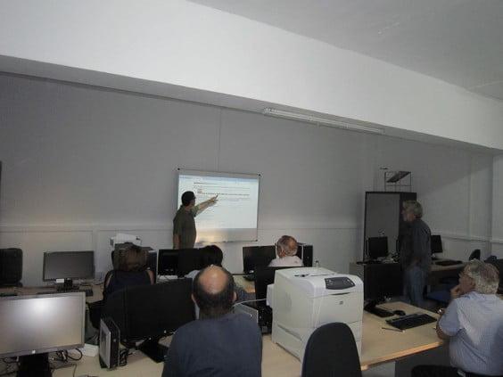 Reunión profesorado UNED Dénia