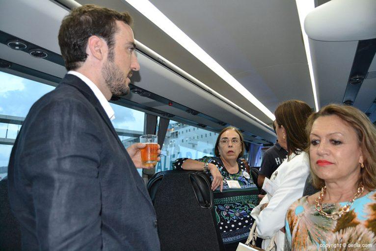 Vistas al interior de los autobuses Denibus+