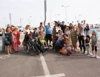 Miembros de Aprosdeco Ibiza en Dénia