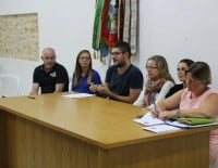 Comité organizador de los 50 años de la Falla Saladar