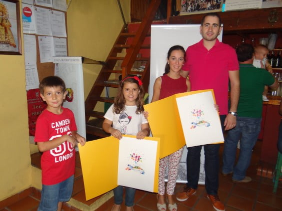Falleras Mayores and president of the Falla Oeste del 2015