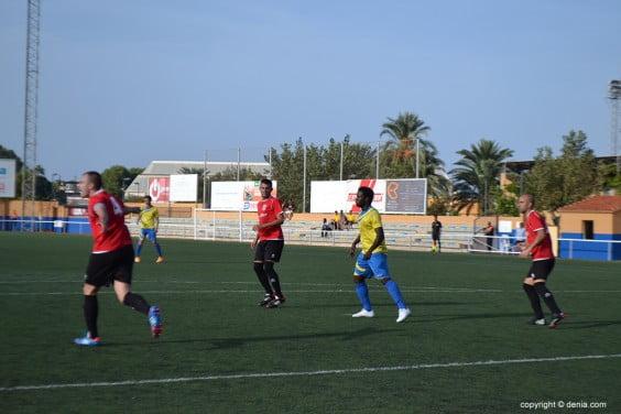 Faye scored the goal Dianense