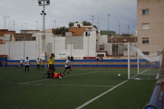 Internacional FC anotando su tercer gol