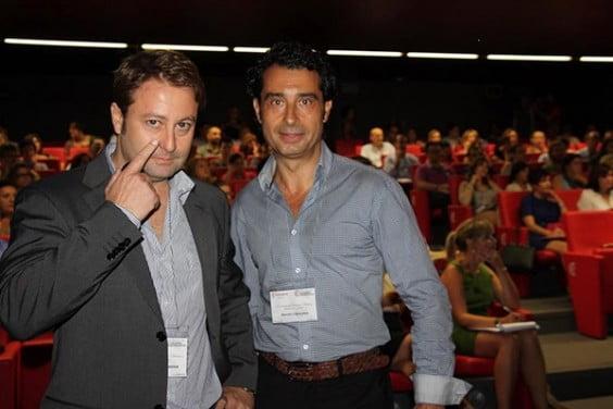 Nacho Cobaleda y Javier Torregrosa