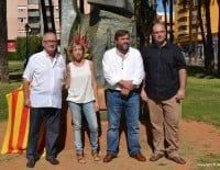 Sebastía García junto a Carrió, Crespo y Gómez