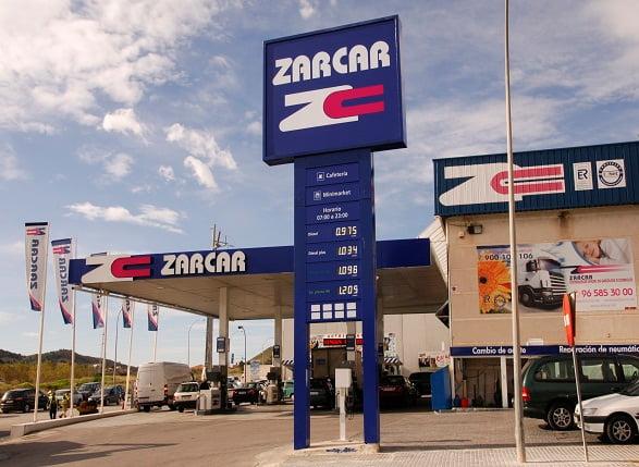 Estación de servicio Zarcar
